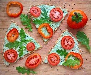 Пицца, как сделать пиццу, сыроедение